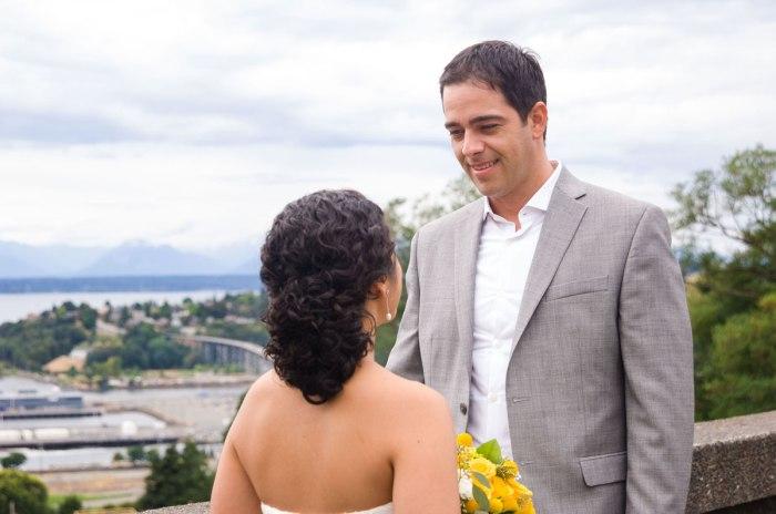 Kerry Park Seattle Wedding